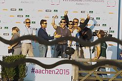 Alvarez Moya Sergio, (ESP), Carlo 273<br /> Individual competition round 3 and Final Team<br /> European Championships - Aachen 2015<br /> © Hippo Foto - Dirk Caremans<br /> 21/08/15
