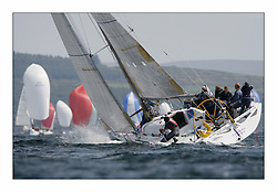 Bell Lawrie Scottish Series 2008. Fine North Easterly winds brought perfect racing conditions in this years event..GBR6940R Converting Machine IV