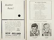 All Ireland Senior Hurling Championship Final,.Programme, .06.09.1953, 09.06.1953, 6th September 1953,.Cork 3-3, Galway 0-8, .Minor Dublin v Tipperary, .Senior Cork v Galway, .Croke Park, 0691953AISHCF,..Advertisements, New Ireland Assurance Company Ltd, Another Point!,..Songs, An Tamran Naisiunta,.