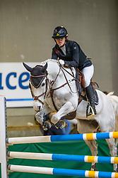 Moors Anne-Kris, BEL, Surprise<br /> Nationaal Indoor Kampioenschap Pony's LRV <br /> Oud Heverlee 2019<br /> © Hippo Foto - Dirk Caremans<br /> 09/03/2019