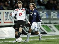 Fotball , 20. mars 2011 , Tippeligaen , Eliteserien ,<br /> Strømsgodset - Sogndal 2-1<br /> <br /> Eirik Markegård , SIF<br /> Ørjan Hopen , Sogndal