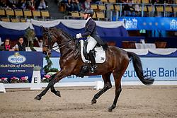 HINDLE Emma (GBR), Romy del Sol<br /> München - Munich Indoors 2019<br /> Deutsche Bank Preis<br /> FEI Grand Prix Special (CDI4*)<br /> 24. November 2019<br /> © www.sportfotos-lafrentz.de/Stefan Lafrentz