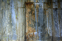 Weathered wall.