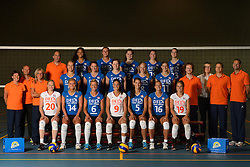 25-06-2013 VOLLEYBAL: NEDERLANDS VROUWEN VOLLEYBALTEAM: ARNHEM<br /> Selectie Oranje vrouwen seizoen 2013-2014 / <br /> ©2013-FotoHoogendoorn.nl