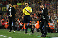 Athletic de Bilbao´s coach Ernesto Valverde during 2014-15 Copa del Rey final match between Barcelona and Athletic de Bilbao at Camp Nou stadium in Barcelona, Spain. May 30, 2015. (ALTERPHOTOS/Victor Blanco)