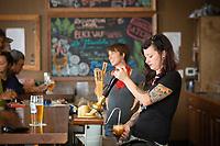 Oakshire Brewery in Eugene, Oregon.