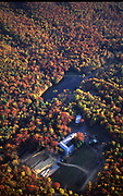 Aerial, Autumn, Lake, Pine Grove Furnace, Cumberland Co., PA