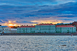 Faculty of Philology, Neva River, Saint Petersburg, St Petersburg, Russia