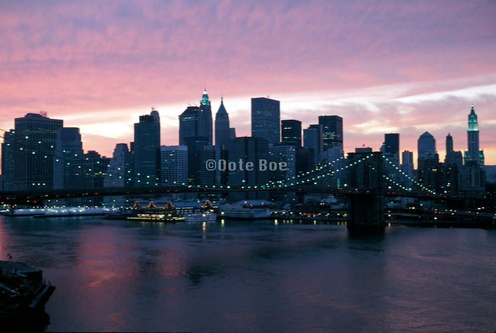 New York skyline after 9/11