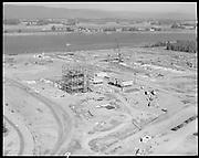 "Ackroyd 15540-09. ""Port of Portland. Aerials at Rivergate. August 30, 1968""<br /> Oregon Steel Mills."