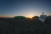 De Glow Worm onderweg naar het wereldrecord op de tweede racedag van het WHPSC. In de buurt van Battle Mountain, Nevada, strijden van 10 tot en met 15 september 2012 verschillende teams om het wereldrecord fietsen tijdens de World Human Powered Speed Challenge. Het huidige record is 133 km/h.<br /> <br /> The Glow Worm with Tom Amick and Phil Plath is on its way to set a new world record for tandems at the second day of the WHPSC. Near Battle Mountain, Nevada, several teams are trying to set a new world record cycling at the World Human Powered Speed Challenge from Sept. 10th till Sept. 15th. The current record is 133 km/h.