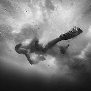 Sandy's shore break and bodysurfing