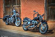 Antique Bikes on Main Street Chesnee SC 2018