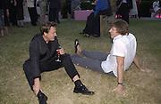 Simon le  Bon. Serpentine Summer Gala. 28 June 2001. © Copyright Photograph by Dafydd Jones 66 Stockwell Park Rd. London SW9 0DA Tel 020 7733 0108 www.dafjones.com