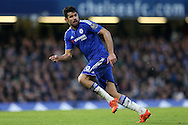 Diego Costa of Chelsea in action. Barclays Premier league match, Chelsea v Everton at Stamford Bridge in London on Saturday 16th January 2016.<br /> pic by John Patrick Fletcher, Andrew Orchard sports photography.