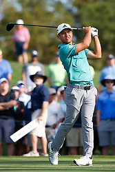 March 14, 2019 - Ponte Vedra Beach, FL, U.S. - PONTE VEDRA BEACH, FL - MARCH 14: Xander Schauffele of the United States hits a tee shot on the 16th hole during the first round of THE PLAYERS Championship on March 14, 2019 on the Stadium Course at TPC Sawgrass in Ponte Vedra Beach, Fl. (Photo by David Rosenblum/Icon Sportswire) (Credit Image: © David Rosenblum/Icon SMI via ZUMA Press)