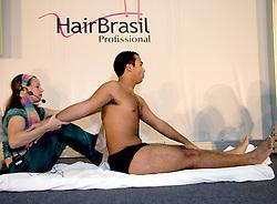 Workshop na Hair Brasil 2008, maior evento de beleza da América Latina, realizado no Expo Center Norte, na zona norte de São Paulo. FOTO: J. R. Comodo / Preview.com