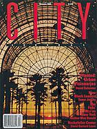 City Magazine Cover, Winter Garden, New York