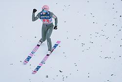 03.01.2021, Bergiselschanze, Innsbruck, AUT, FIS Weltcup Skisprung, Vierschanzentournee, Innsbruck, Einzelbewerb, Herren, im Bild Dawid Kubacki (POL) // Dawid Kubacki of Poland during the men's individual competition for the Four Hills Tournament of FIS Ski Jumping World Cup at the Bergiselschanze in Innsbruck, Austria on 2021/01/03. EXPA Pictures © 2020, PhotoCredit: EXPA/ JFK