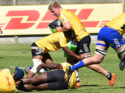 Cape Town-180911- Western Province players practising some tackles during a training session at the Bellville HPC .Photographs:Phando Jikelo/African News Agency/ANA