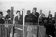 06/03/1964<br /> 03/06/1964<br /> 06 March 1964<br /> View of racegoers at the Leopardstown racecourse.