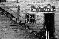 Crooked Tree Police Station in Belize