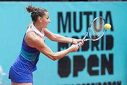 May 9, 2018 - Madrid, Spain - Czech Karolína Pliskova during Mutua Madrid Open 2018 at Caja Magica in Madrid, Spain. May 09, 2018. (Credit Image: © Coolmedia/NurPhoto via ZUMA Press)
