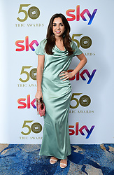 Louisa Lytton attending the TRIC Awards 2019 50th Birthday Celebration held at the Grosvenor House Hotel, London.