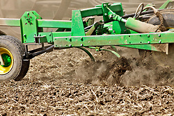 Turning the dirt, tilling the soil, farming in America.