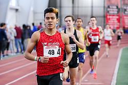 1000 meters, heat 1, Alvarado, Atlanta Track Club,<br /> BU John Terrier Classic <br /> Indoor Track & Field Meet <br /> day 2