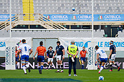 First 3 point for Italy team scored by Paolo Garbisi (Italy) on penalty kick during the Autumn Nations Cup, rugby union Test match between Italy and Scotland on November 14, 2020 at the Artemio Franchi stadium in Florence, Italy - Photo Ettore Griffoni / LM / ProSportsImages / DPPI