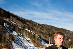 Miro Cerar, prime minister of Slovenia  at Official opening of the new Nordic centre Planica, on December 11, 2015 in Planica, Slovenia. Photo by Vid Ponikvar / Sportida