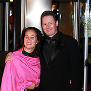NLD/Amsterdam/20110527 - 40ste verjaardag Prinses Maxima, Carel Kraayenhof en partner Thirza Lourens