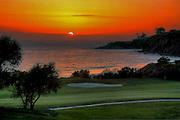 Monarch Beach Golf Links at Sunset