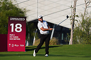Zander Lombard (RSA) on the 18th during Round 1 of the Commercial Bank Qatar Masters 2020 at the Education City Golf Club, Doha, Qatar . 05/03/2020<br /> Picture: Golffile   Thos Caffrey<br /> <br /> <br /> All photo usage must carry mandatory copyright credit (© Golffile   Thos Caffrey)