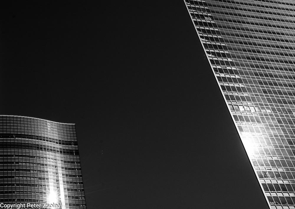 Skyscrapers in Tokio