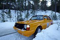 Ål 180103 - Rally NM åpning i Hallingdal - Øystein Opseth og kartleser Roy Espen Olsen fra Moss ble nummer 3 i Nasjonal klasse.<br /> <br /> Foto: Andreas Fadum, Digitalsport