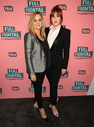"""Samantha Bee and Molly Ringwald at the TBS Television Network For Your Consideration Event for """"Full Frontal With Samantha Bee"""" held at the Writers Guild Theater in Beverly Hills."""