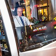 NLD/Amsterdam/20170313 - Edward Niessing op de tram