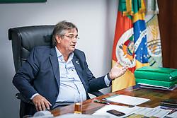 O presidente da Farsul - Federação de Agricultura do Rio Grande do Sul, Gedeão Silveira Pereira. FOTO: Jefferson Bernardes/ Agência Preview