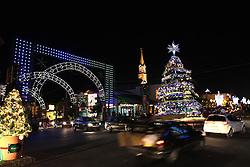Natal Luz em Gramado. Cidade serrana gaúcha decorada. Foto: Marcos Nagelstein
