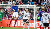 Fotball<br /> Tippeligaen ru<br /> Vålerenga VIF - Rosenborg RBK<br /> Ullevål Stadion 06.06.15<br /> Jonatan Tollås Nation over Alexander Søderlund<br /> Foto: Eirik Førde