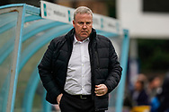 Portsmouth manager Kenny Jackett during the EFL Sky Bet League 1 match between Wycombe Wanderers and Portsmouth at Adams Park, High Wycombe, England on 6 April 2019.