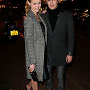 NLD/Amsterdam/20120308 - Presentatie nieuwe collectie voor Louis Vuitton, Liza Sips en partner Joel Davans