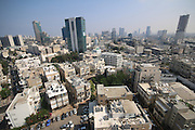 Aerial Photography of downtown Tel Aviv, Israel