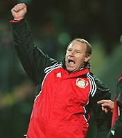 Berti VOGTS,                       Fusballtrainer      Bayer 04 Leverkusen