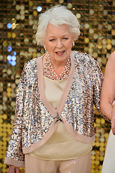 © Licensed to London News Pictures. 29/06/2016. JUNE WHITFIELD attends the ABSOLUTELY FABULOUS world film premiere. London, UK. Photo credit: Ray Tang/LNP