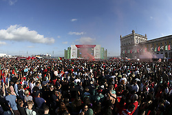 June 15, 2018 - Na - Lisbon, 06/15/2018 - Report on Arena Portugal, installed in the Paço terreiro in Lisbon, where the 2018 World Cup match between Portugal and Spain will be broadcast. Arena Overview  (Credit Image: © Atlantico Press via ZUMA Wire)