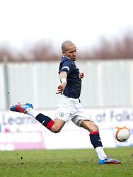 Falkirk's Farid El Alagui..Falkirk 3 v 0 Queen of the South, 25/2/2012..© Michael Schofield.