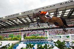 Maikel Van Der Vleuten, (NED), VDL Groep Verdi TN NOP - World Champions, - Second Round Team Competition - Alltech FEI World Equestrian Games™ 2014 - Normandy, France.<br /> © Hippo Foto Team - Leanjo De Koster<br /> 25/06/14